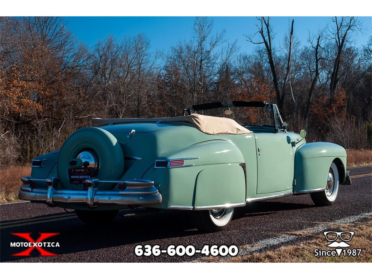 Large Picture of Classic '47 Continental located in Missouri Offered by MotoeXotica Classic Cars - P7RD