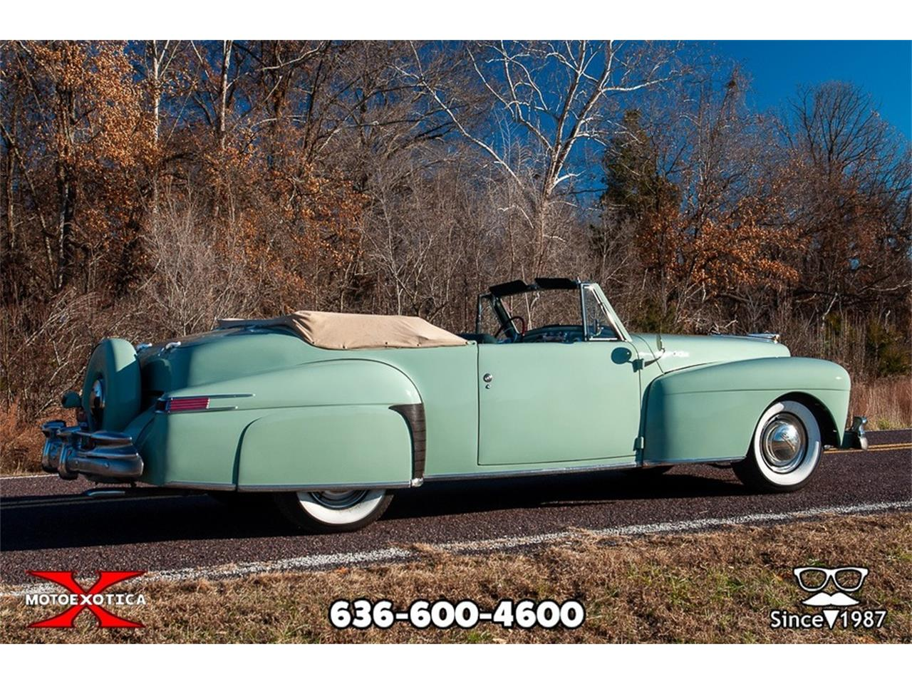 Large Picture of '47 Lincoln Continental - $39,900.00 Offered by MotoeXotica Classic Cars - P7RD