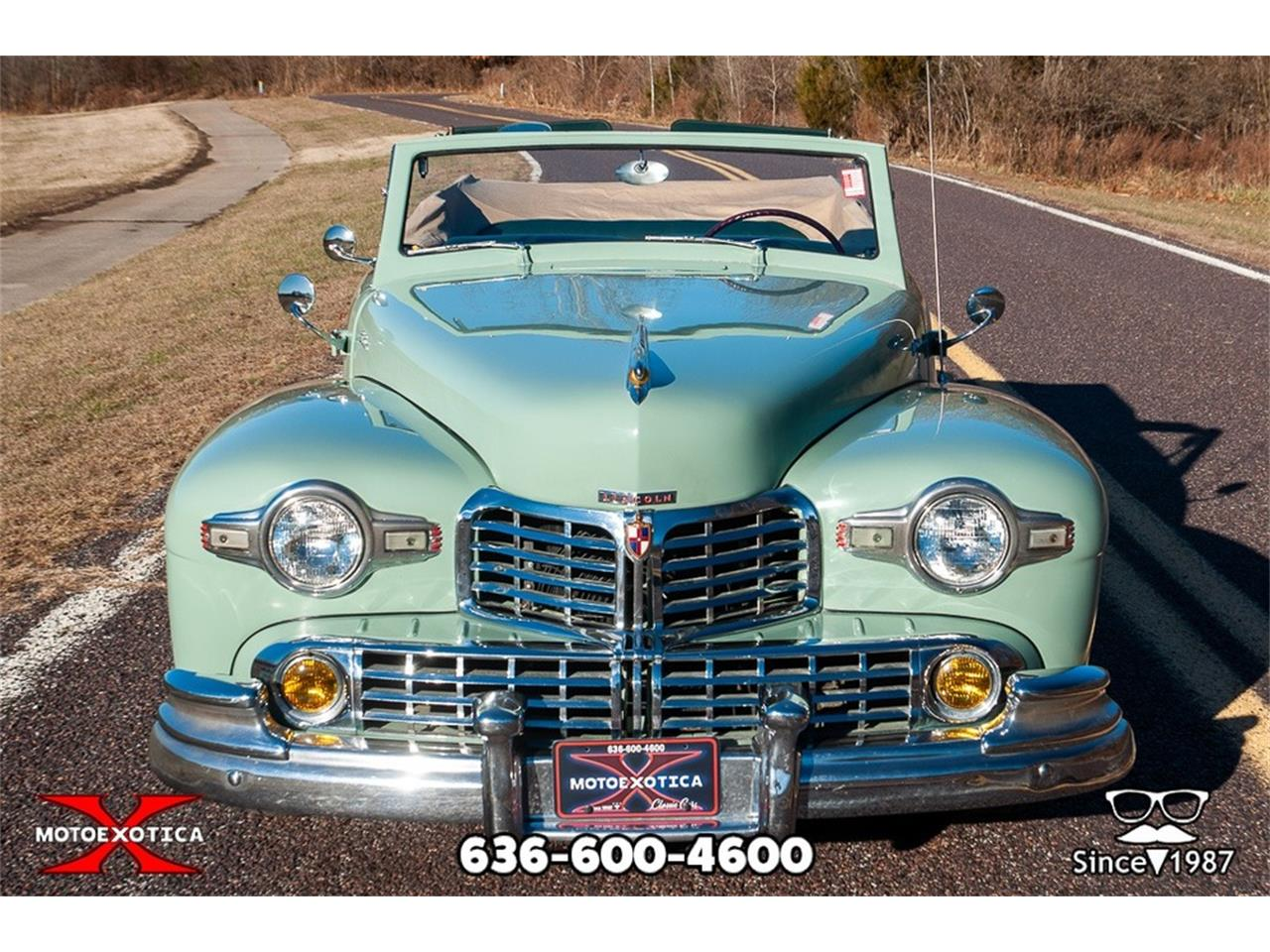 Large Picture of Classic 1947 Continental located in Missouri - $39,900.00 Offered by MotoeXotica Classic Cars - P7RD