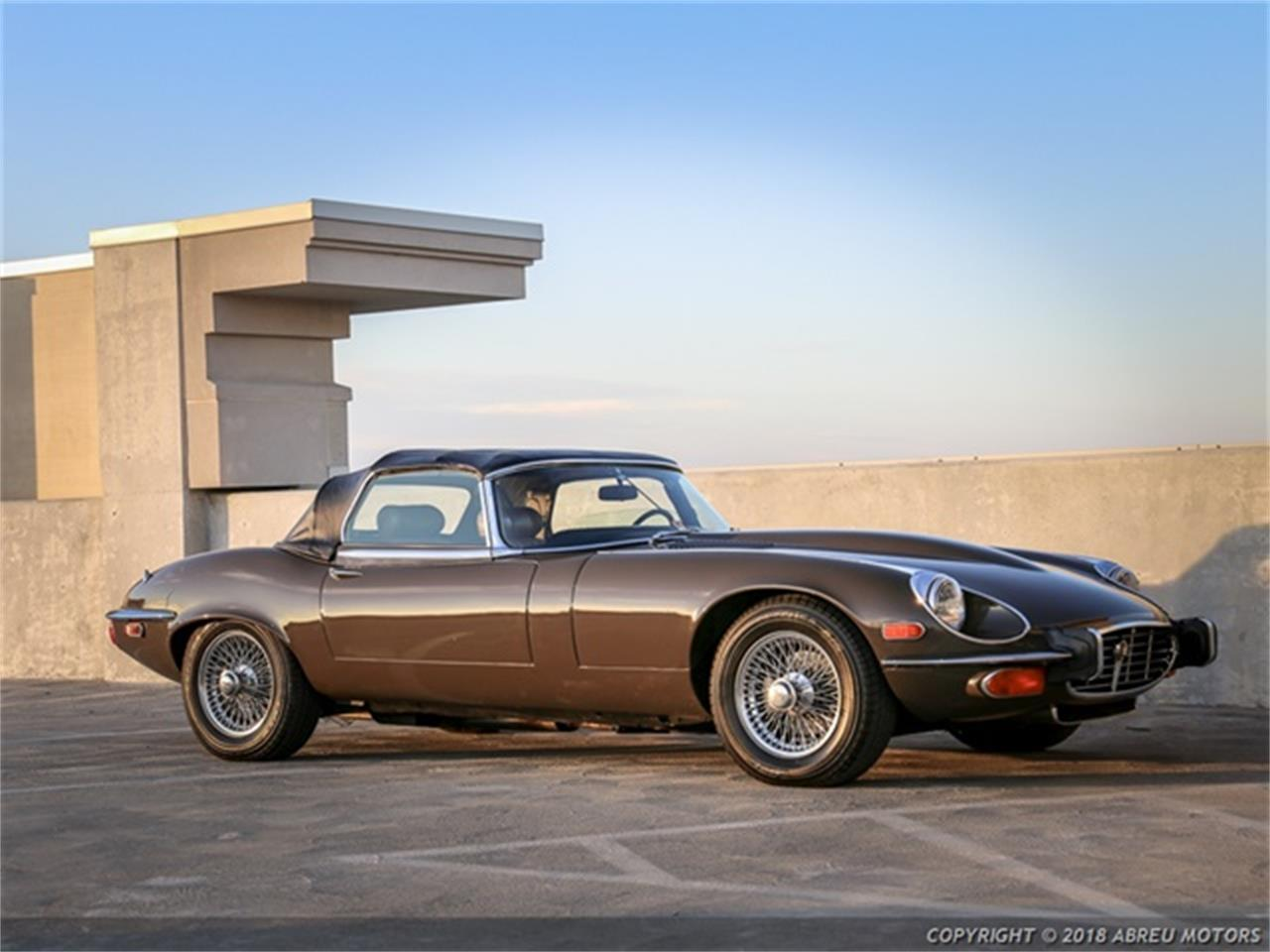 Large Picture of Classic 1973 Jaguar E-Type located in Indiana Offered by Abreu Motors - P7SJ