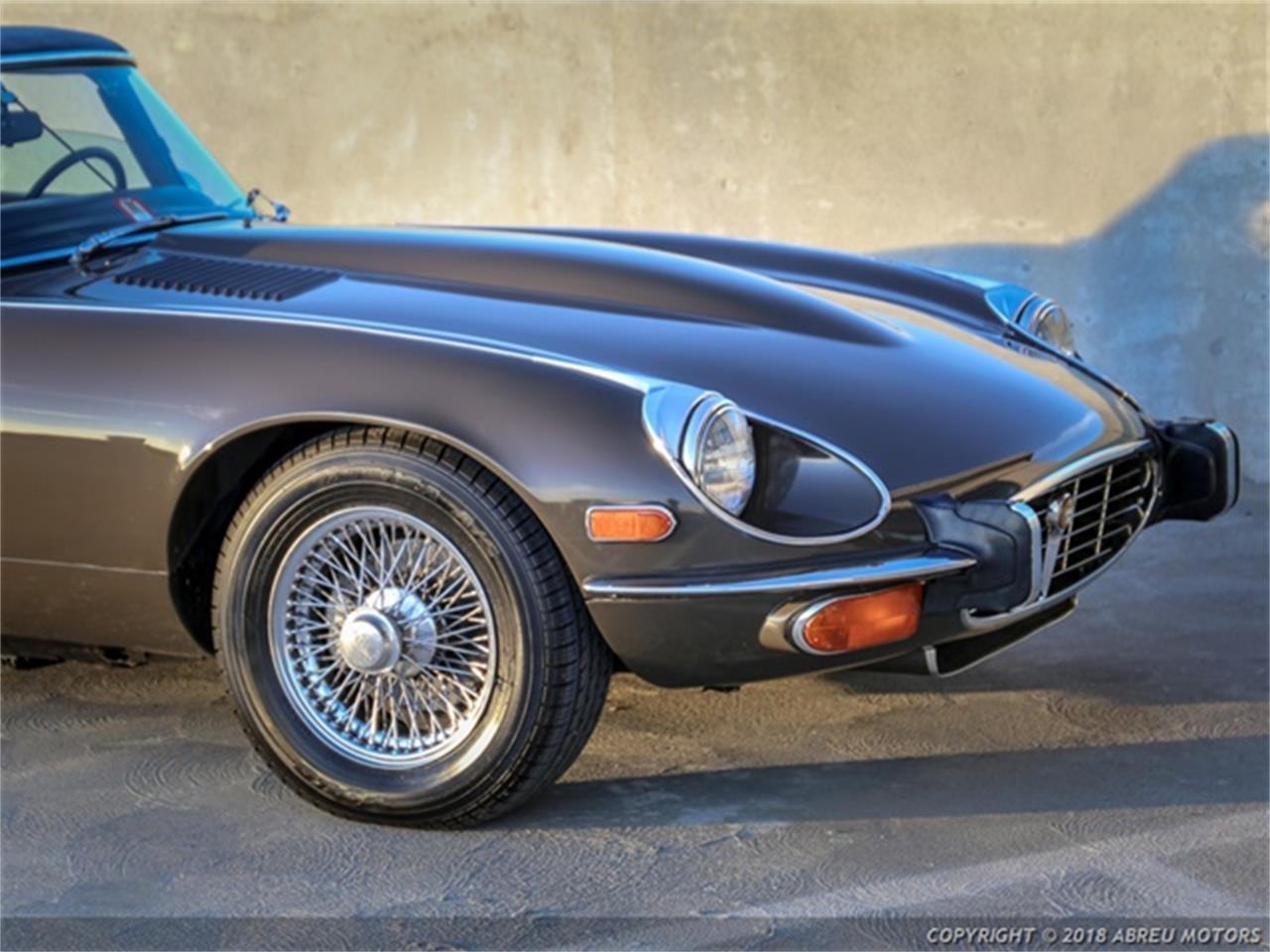 Large Picture of Classic 1973 Jaguar E-Type located in Carmel Indiana Auction Vehicle Offered by Abreu Motors - P7SJ