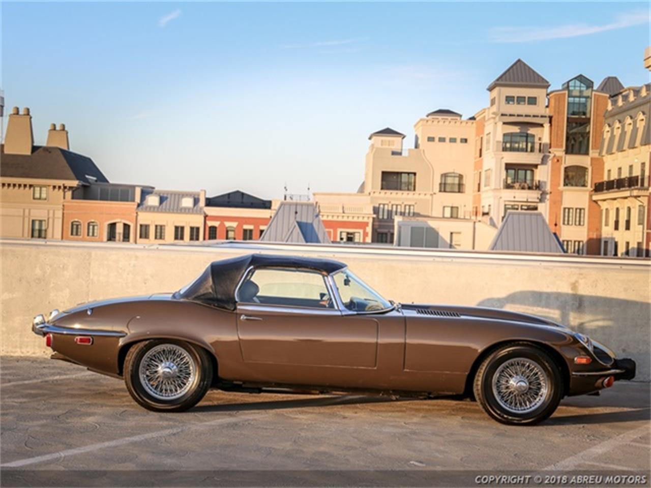 Large Picture of Classic 1973 Jaguar E-Type Offered by Abreu Motors - P7SJ