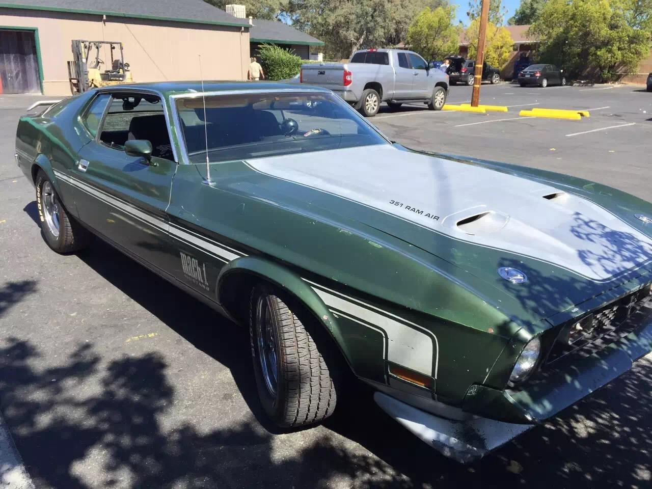For sale 1971 ford mustang mach 1 in roseville california