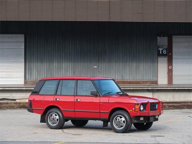 Picture of '92 Range Rover - P86B