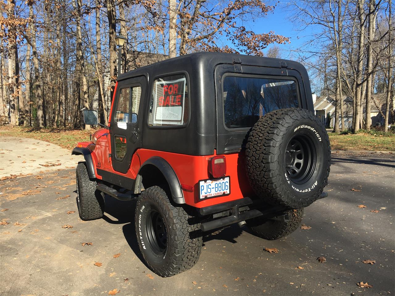 Large Picture of '78 Jeep CJ5 - P882