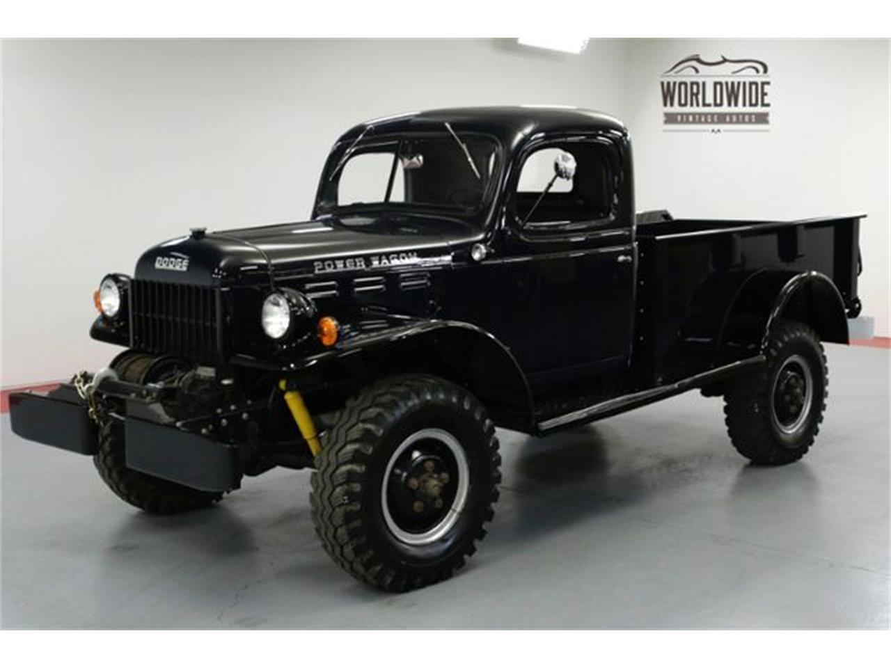 Dodge Power Wagon For Sale >> 1947 Dodge Power Wagon For Sale Classiccars Com Cc 1177116