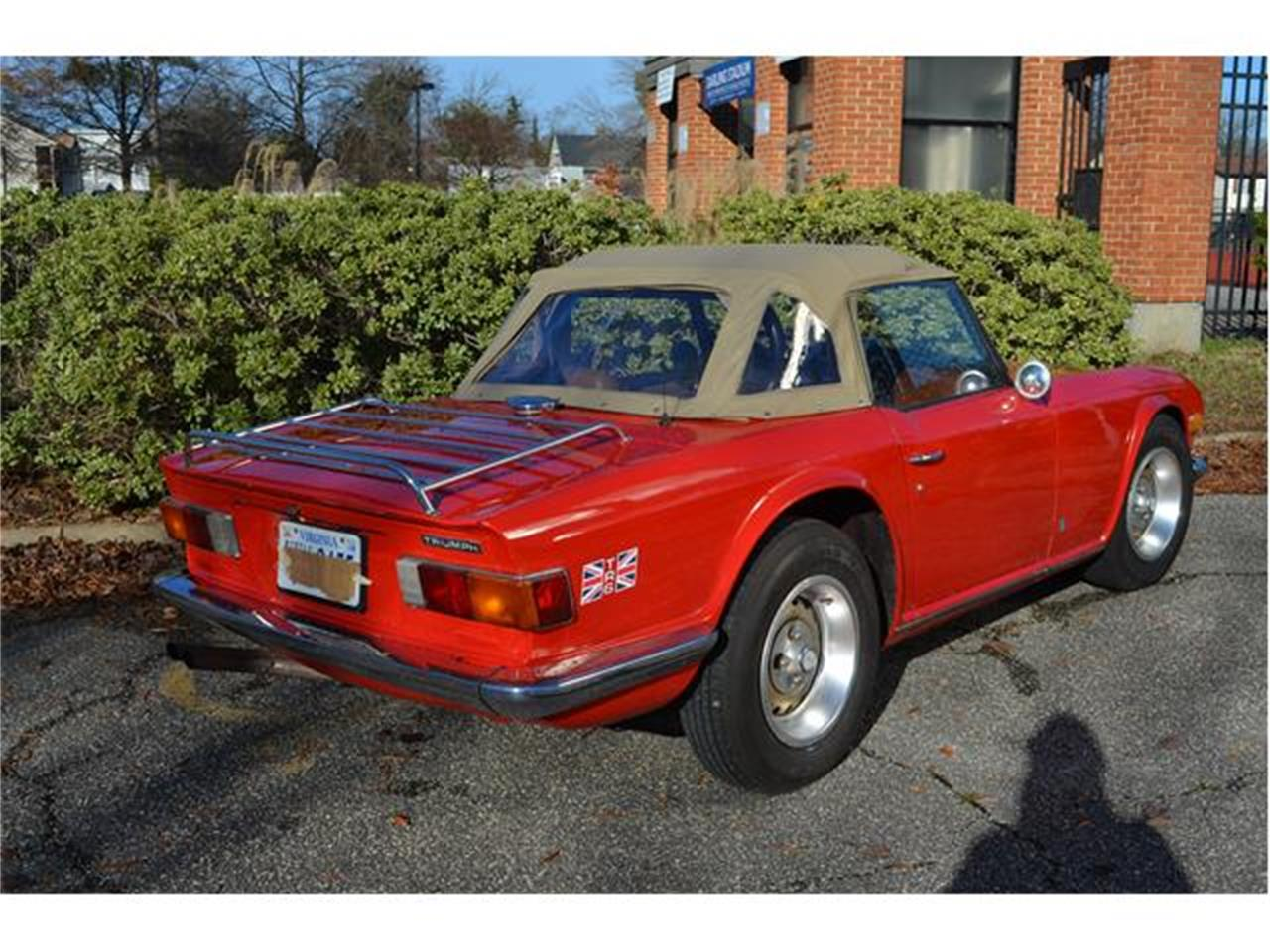 Large Picture of '74 TR6 - P8ES