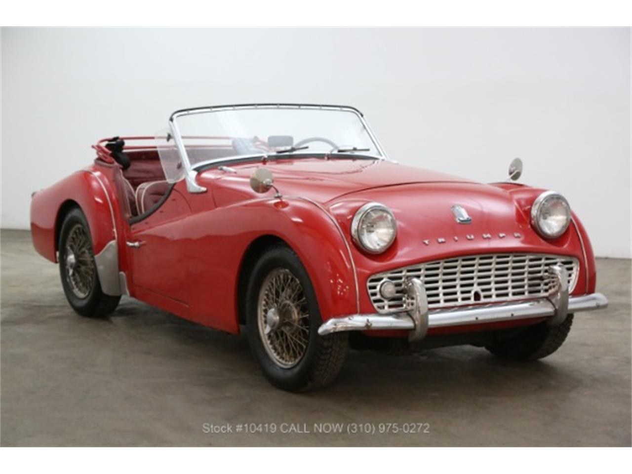 For Sale: 1960 Triumph TR3 in Beverly Hills, California