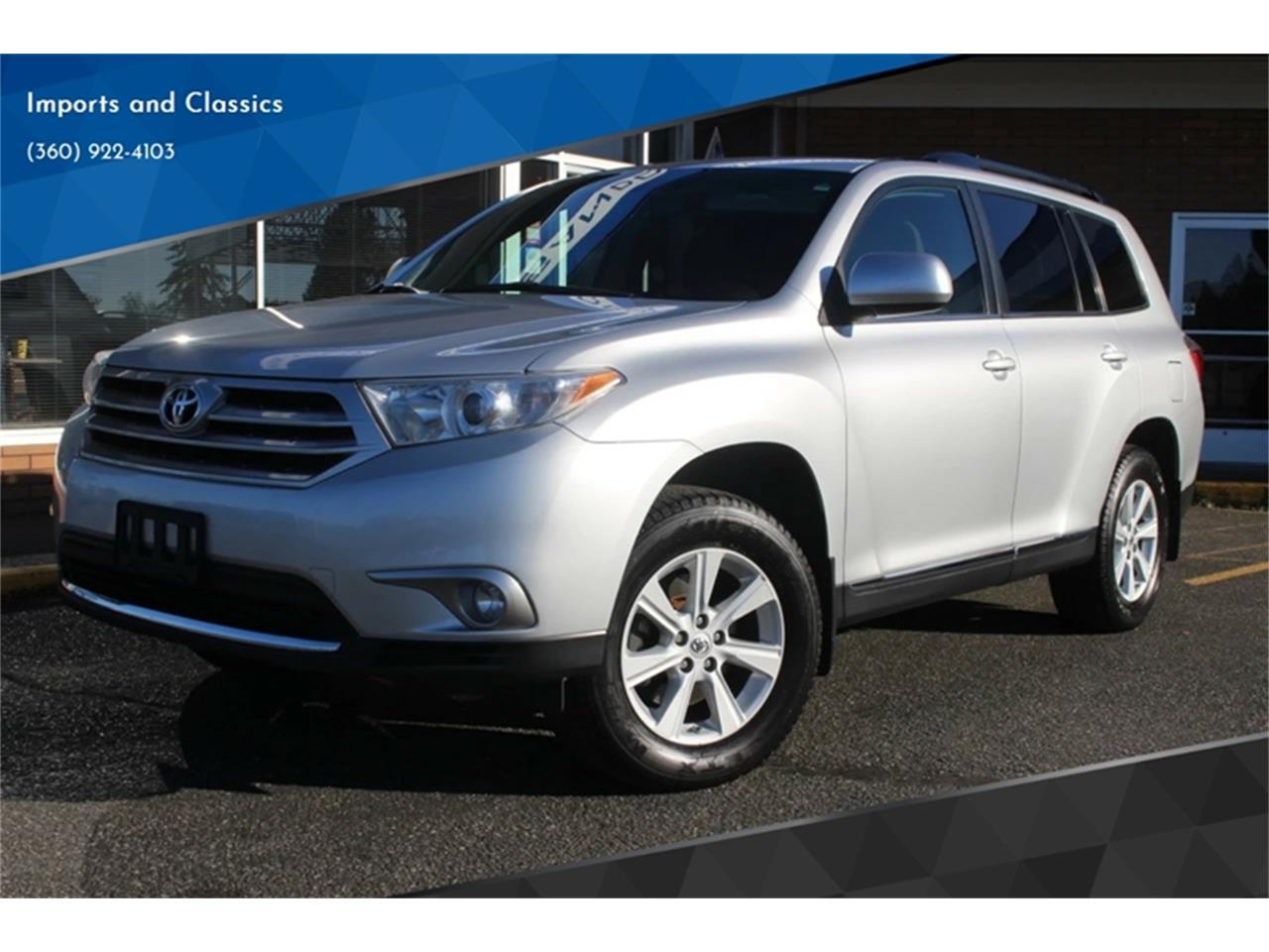 2013 Toyota Highlander For Sale >> For Sale 2013 Toyota Highlander In Lynden Washington