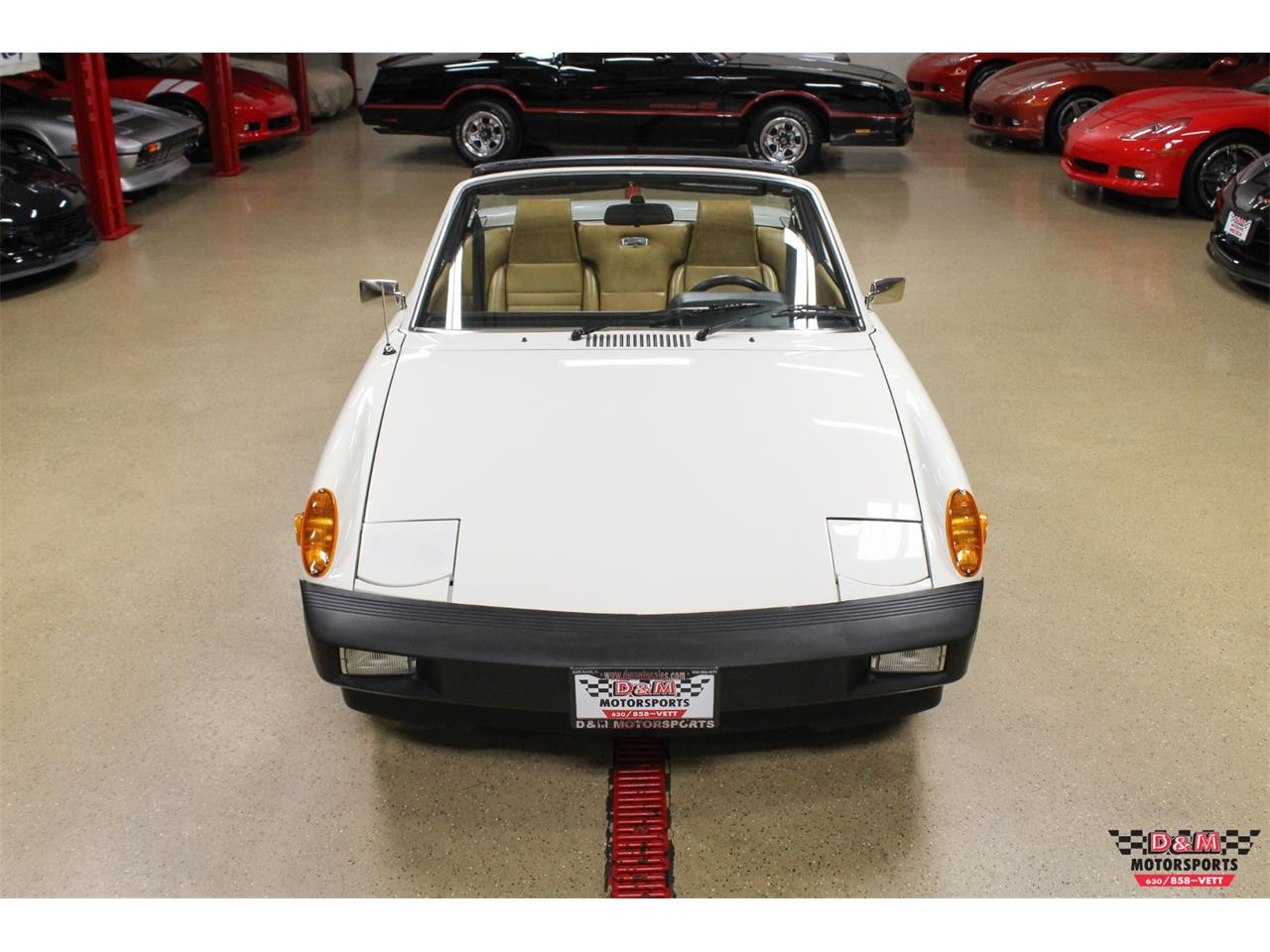 Large Picture of '76 Porsche 914 located in Glen Ellyn Illinois Offered by D & M Motorsports - P8QY