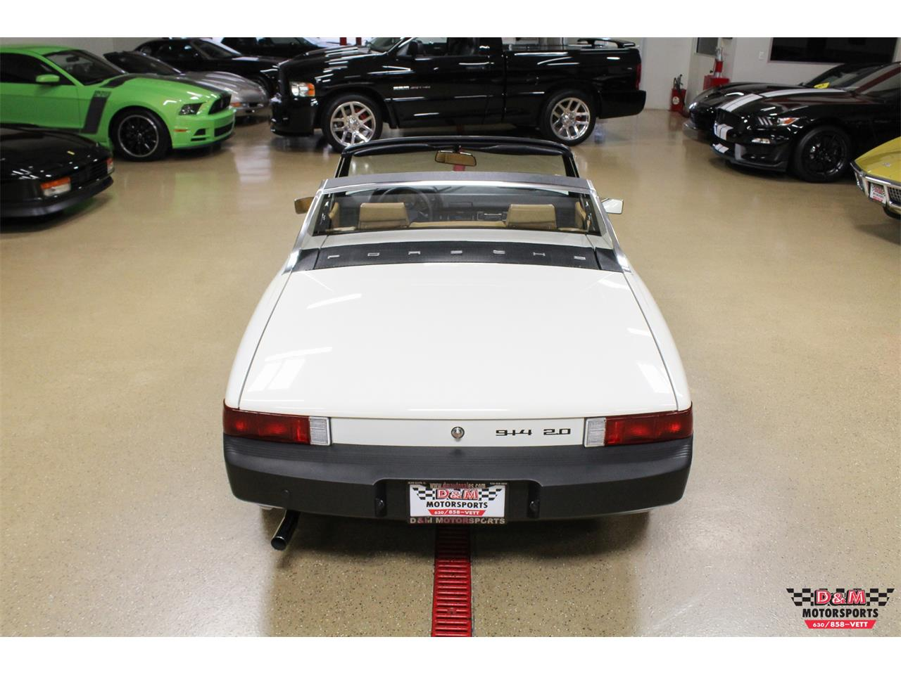 Large Picture of '76 Porsche 914 located in Illinois Offered by D & M Motorsports - P8QY