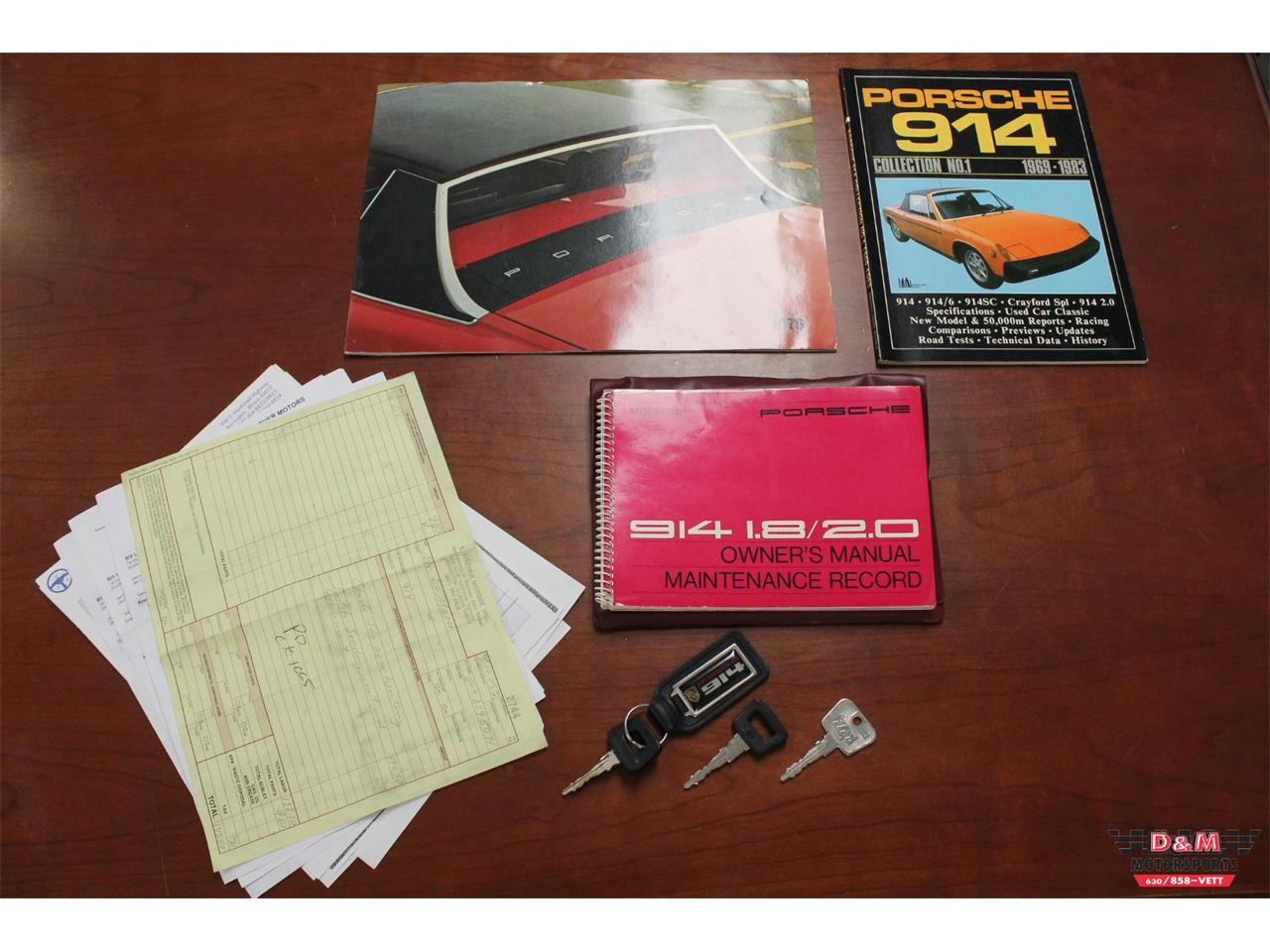 Large Picture of 1976 Porsche 914 located in Glen Ellyn Illinois Offered by D & M Motorsports - P8QY
