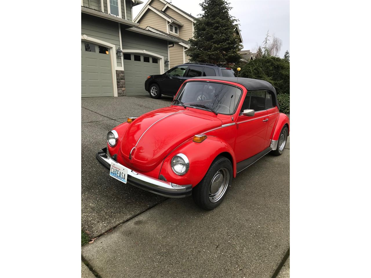 Large Picture of 1979 Volkswagen Super Beetle located in Duvall Washington - P8SK