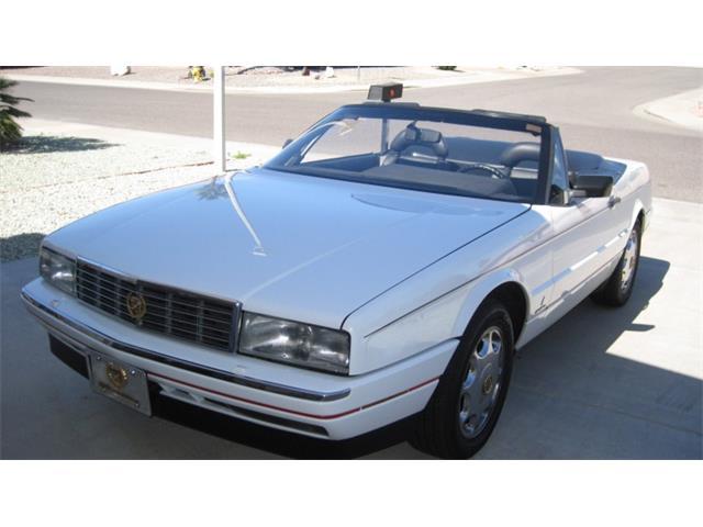 Classic Cadillac Allante For Sale On Classiccars Com