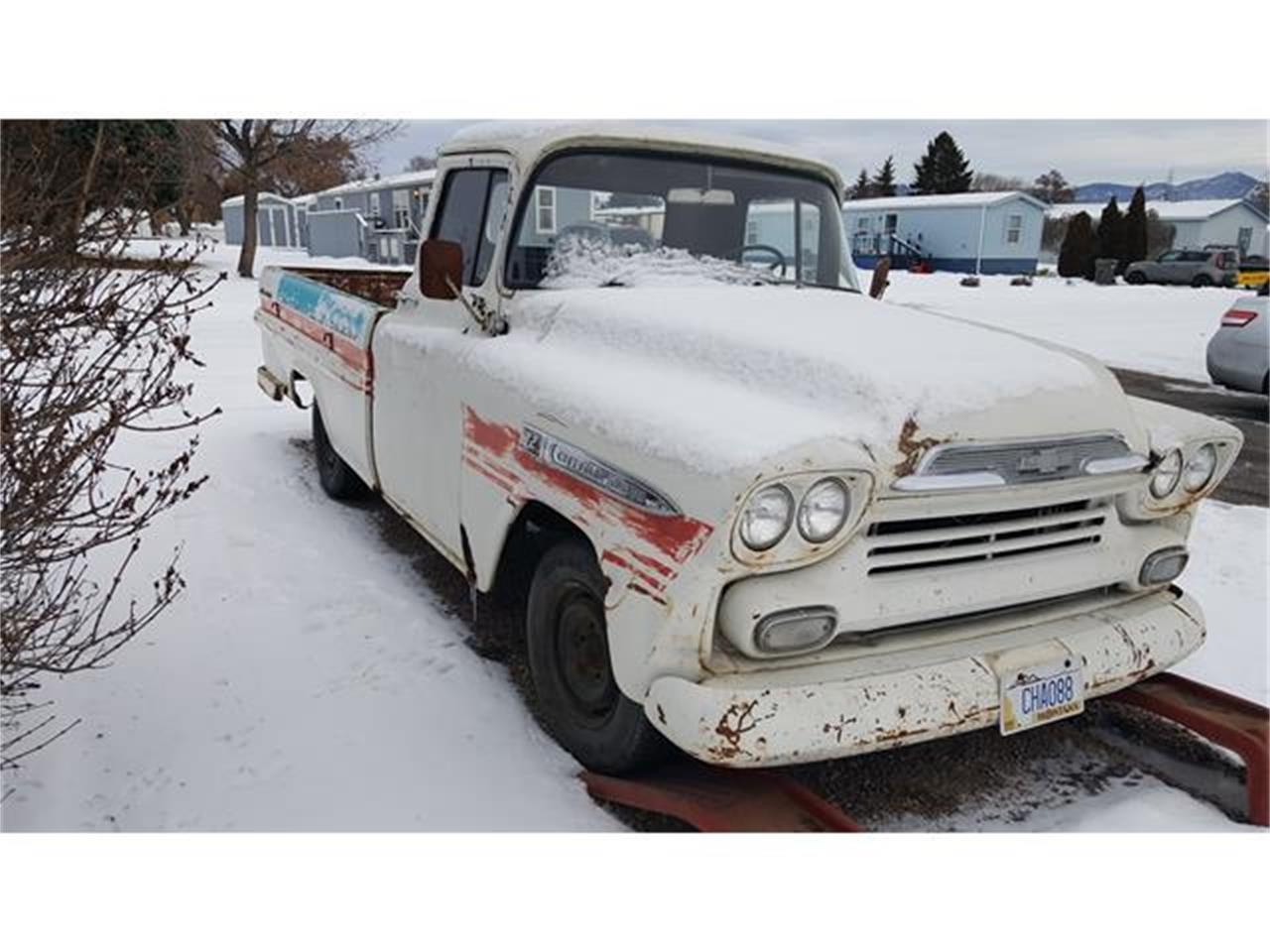 Missoula Car Dealers >> 1959 Chevrolet Apache for Sale | ClassicCars.com | CC-1178718