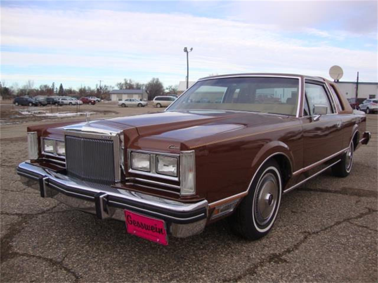 1980 Lincoln Town Car For Sale Classiccars Com Cc 1178733