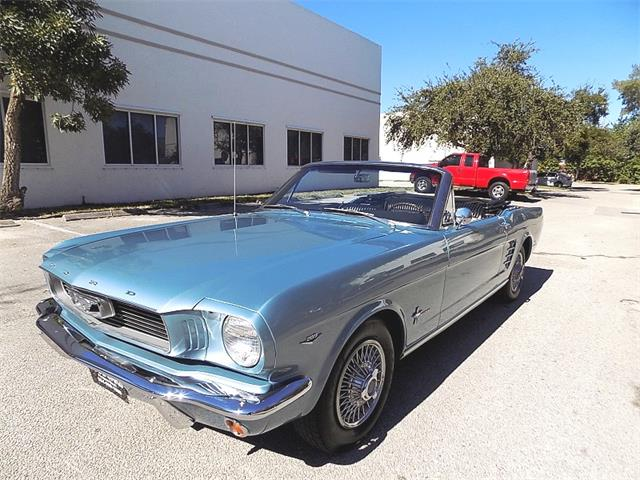 1966 Ford Mustang For Sale On Classiccars Com