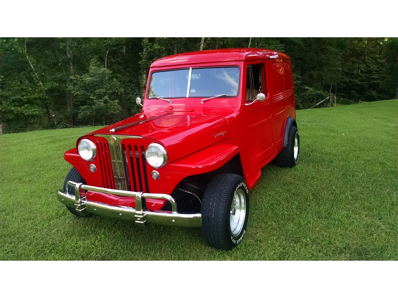 Large Picture of Classic '47 Willys Overland Station Wagon located in Fall Branch Tennessee - $56,000.00 Offered by a Private Seller - P9N7