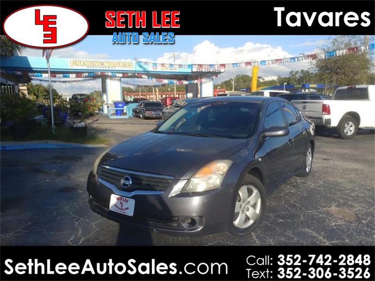 2008 Nissan Altima For Sale >> For Sale 2008 Nissan Altima In Tavares Florida
