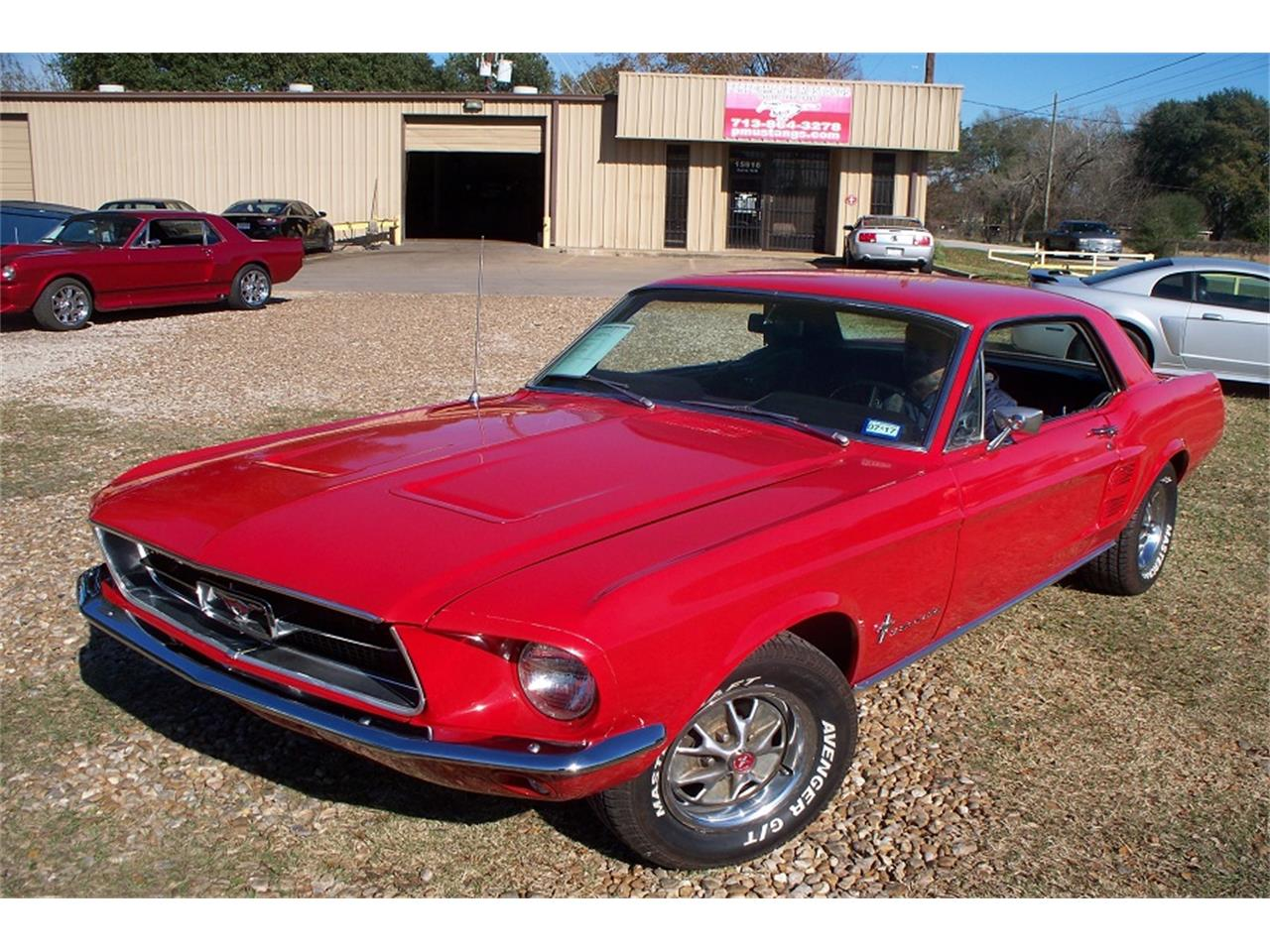 Large Picture of '67 Mustang - P9WT
