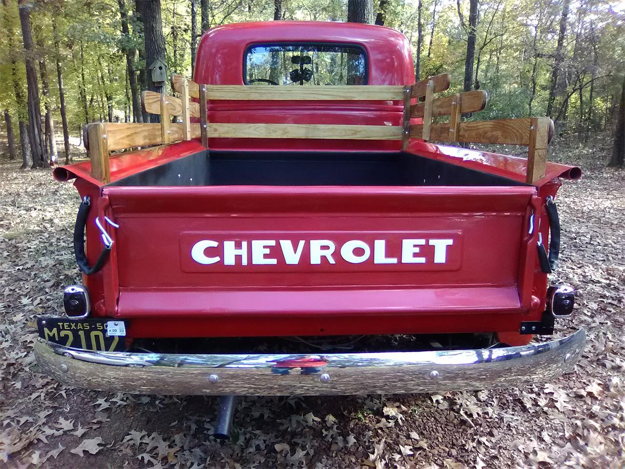 Large Picture of 1950 Chevrolet 3100 located in RUSK Texas Offered by a Private Seller - PA2N