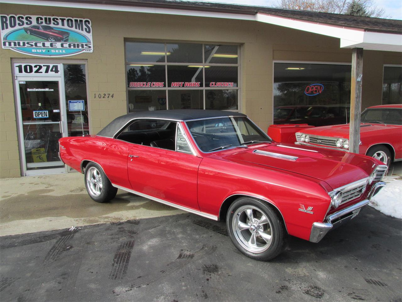 For Sale: 1967 Chevrolet Chevelle SS in Goodrich, Michigan