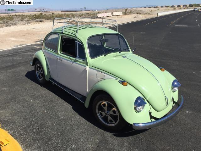1969 Volkswagen Beetle For Sale On Classiccars Com