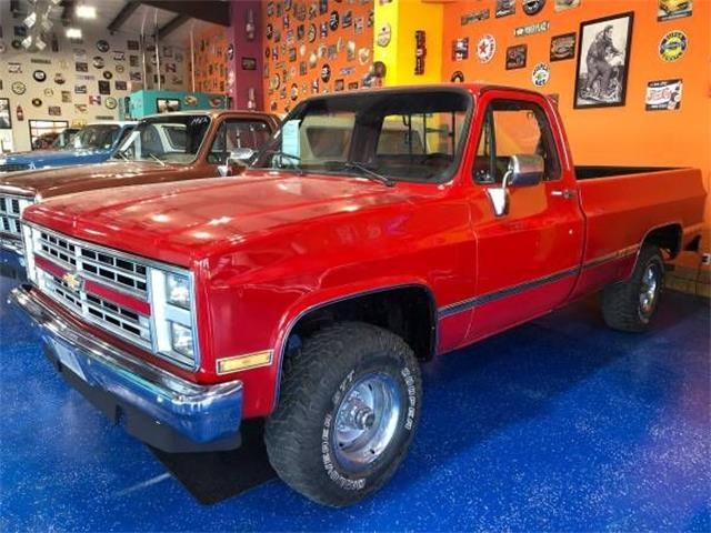 Picture of '87 K-10 located in Michigan Offered by  - PA6S