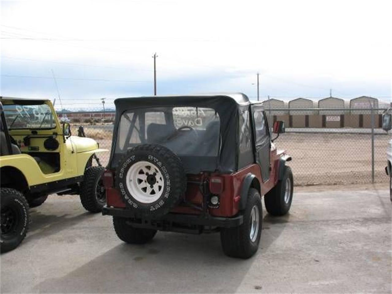 Large Picture of '78 Jeep CJ5 located in Cadillac Michigan - PA83