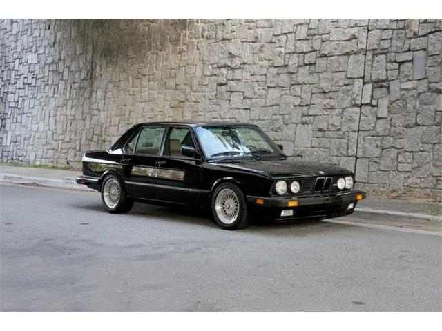 Picture of '88 BMW M5 located in Atlanta Georgia - $32,900.00 Offered by  - PABZ