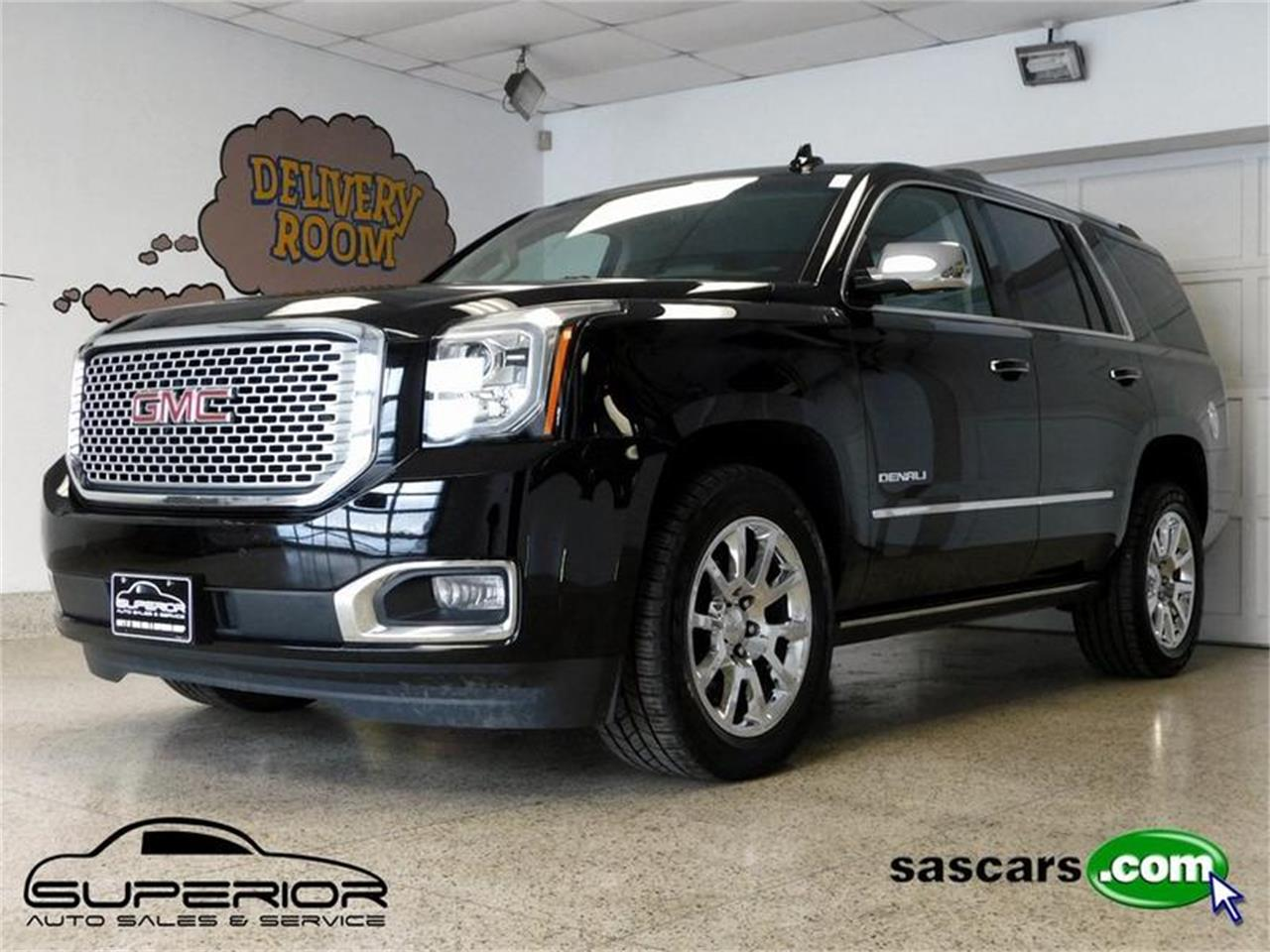 Large Picture of '15 GMC Yukon Denali located in Hamburg New York - $39,500.00 Offered by Superior Auto Sales - P3JC