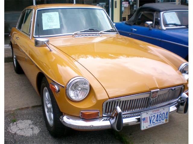 Picture of '70 MGB GT - PBGA