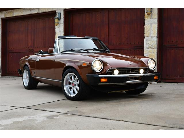 Fiat Spider For Sale >> Classic Fiat Spider For Sale On Classiccars Com On Classiccars Com