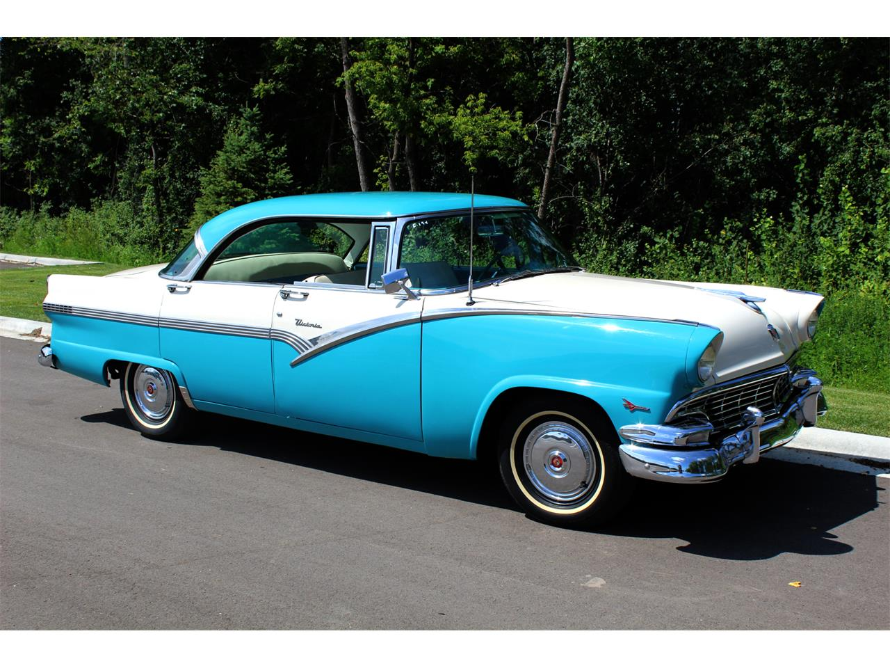 1956 ford fairlane for sale cc 1180136. Black Bedroom Furniture Sets. Home Design Ideas