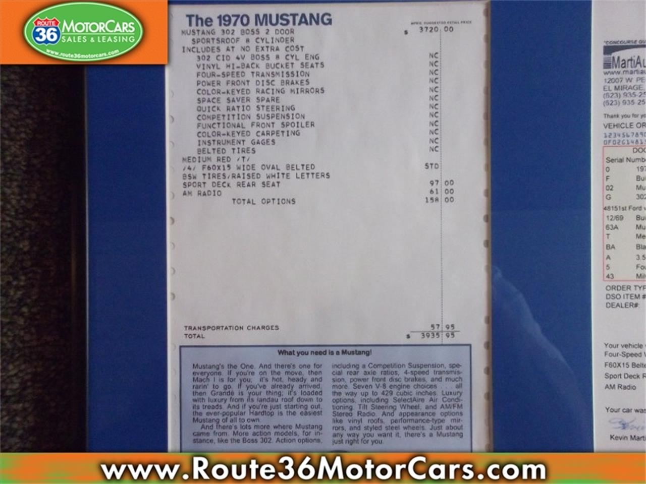 Large Picture of 1970 Ford Mustang located in Ohio - $69,975.00 - PBL3