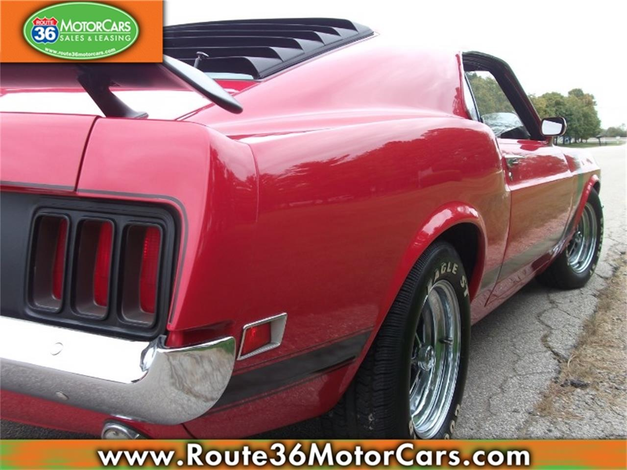 Large Picture of Classic '70 Ford Mustang located in Dublin Ohio Offered by Route 36 Motor Cars - PBL3