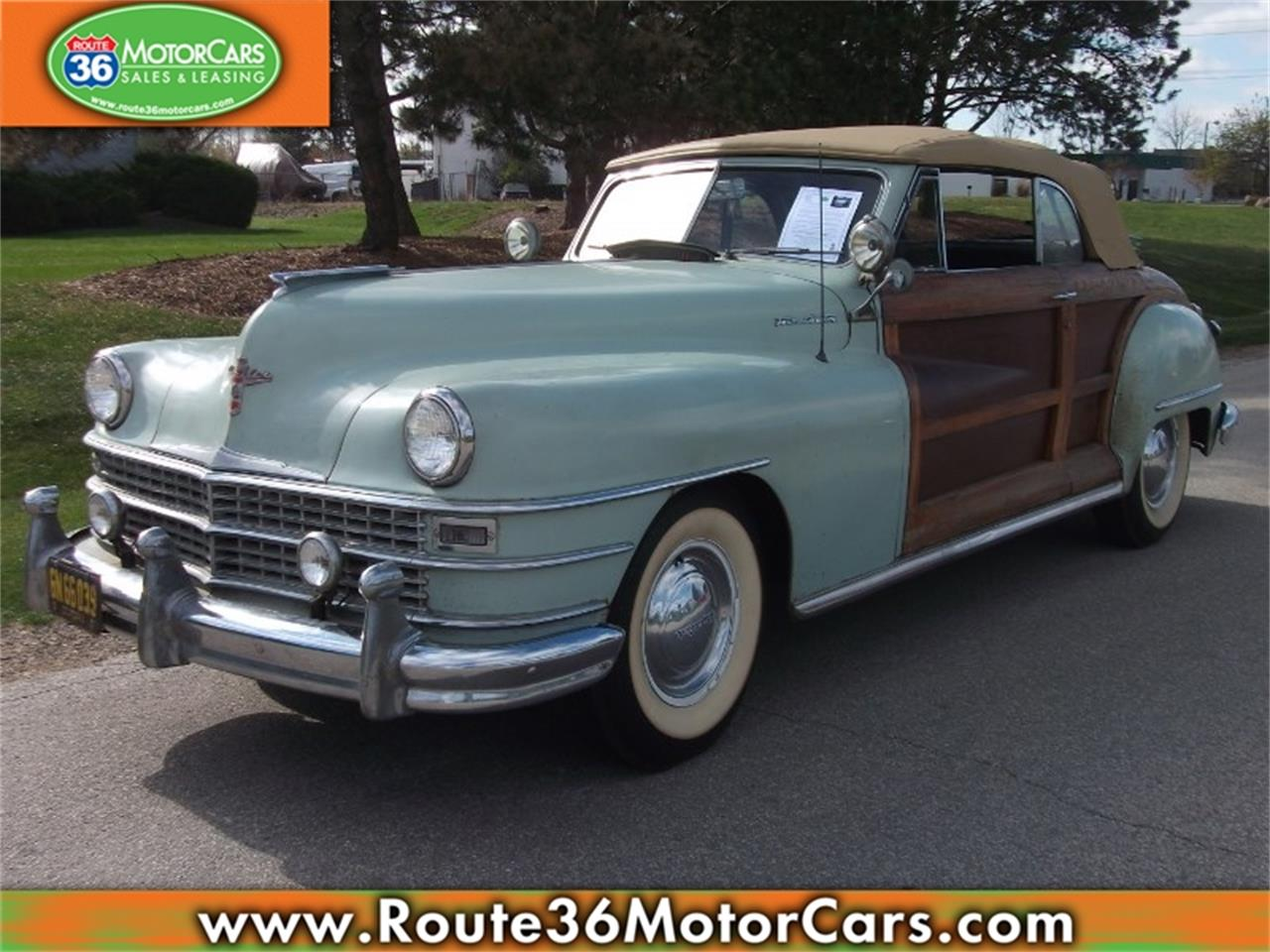 Large Picture Of Clic 1947 Chrysler Town Country Located In Dublin Ohio Pbl4