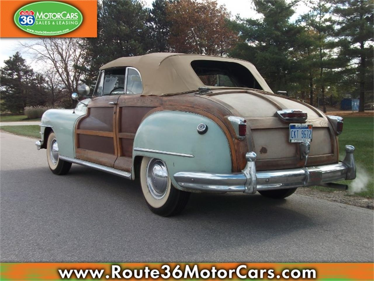 Large Picture Of 47 Chrysler Town Country Located In Dublin Ohio 475 00 Offered