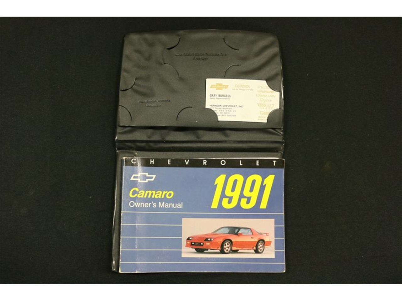 Large Picture of '91 Chevrolet Camaro Offered by Streetside Classics - Dallas / Fort Worth - PBLJ