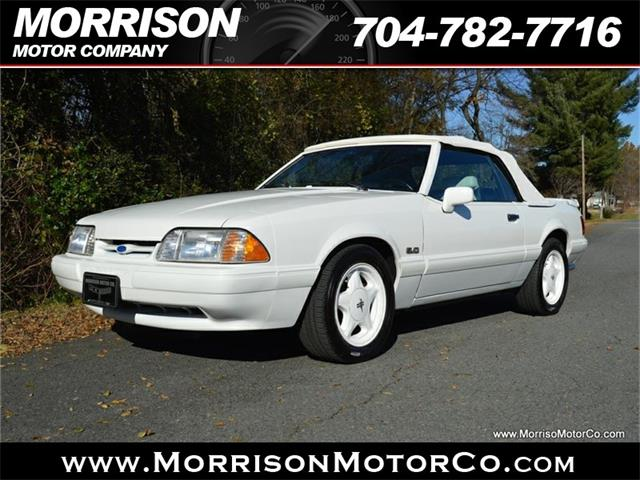 1991 To 1993 Ford Mustang For Sale On Classiccars Com
