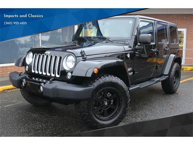 Picture of '17 Wrangler - $33,099.00 Offered by  - PBPV