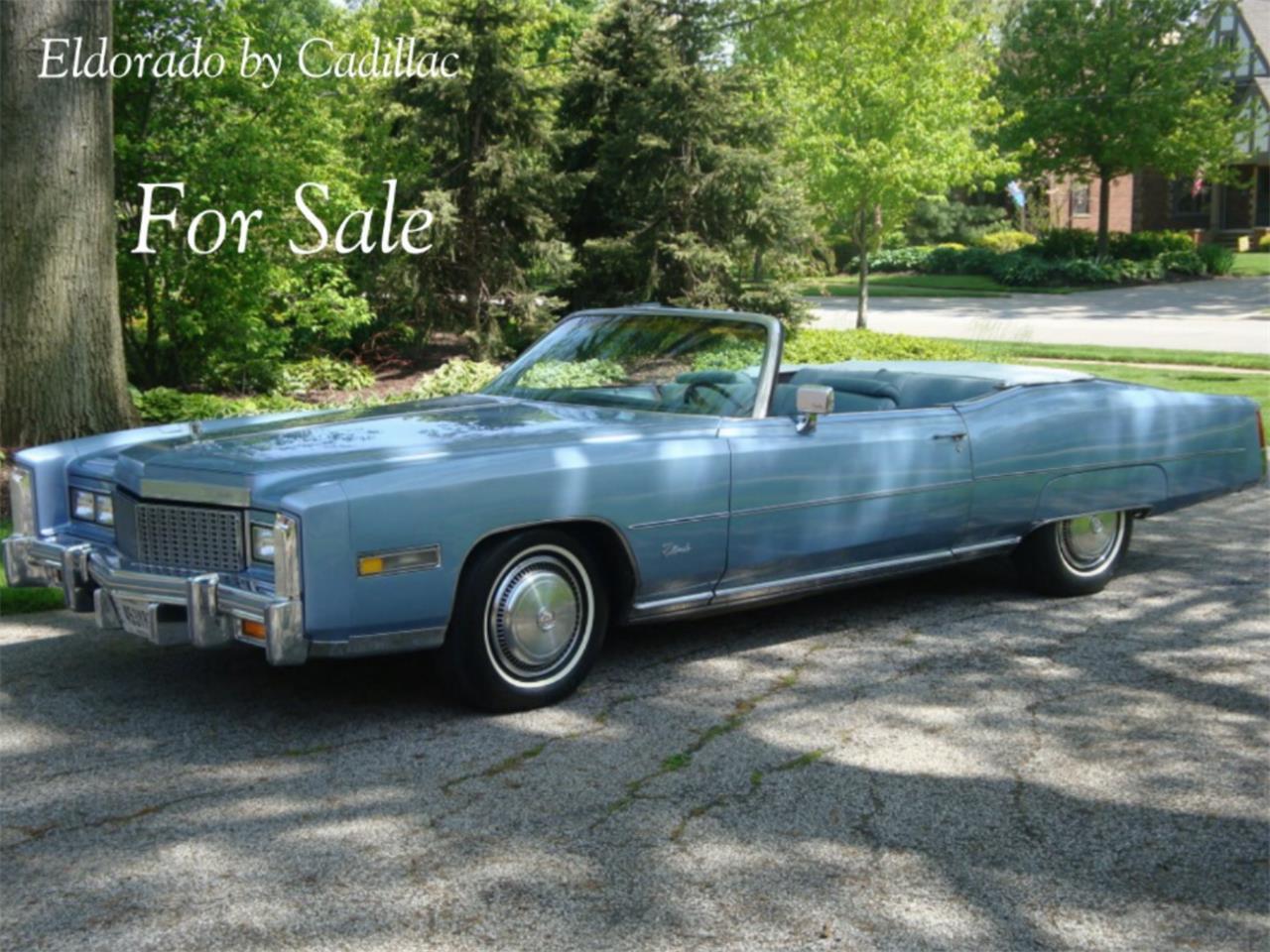 For Sale: 1974 Cadillac Eldorado in Berea, Ohio