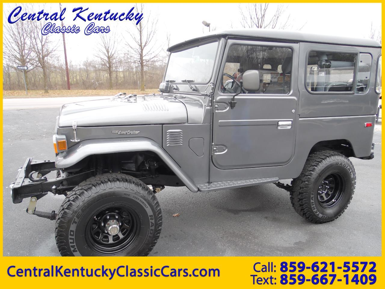 Toyota Fj40 For Sale >> For Sale 1979 Toyota Land Cruiser Fj40 In Paris Kentucky
