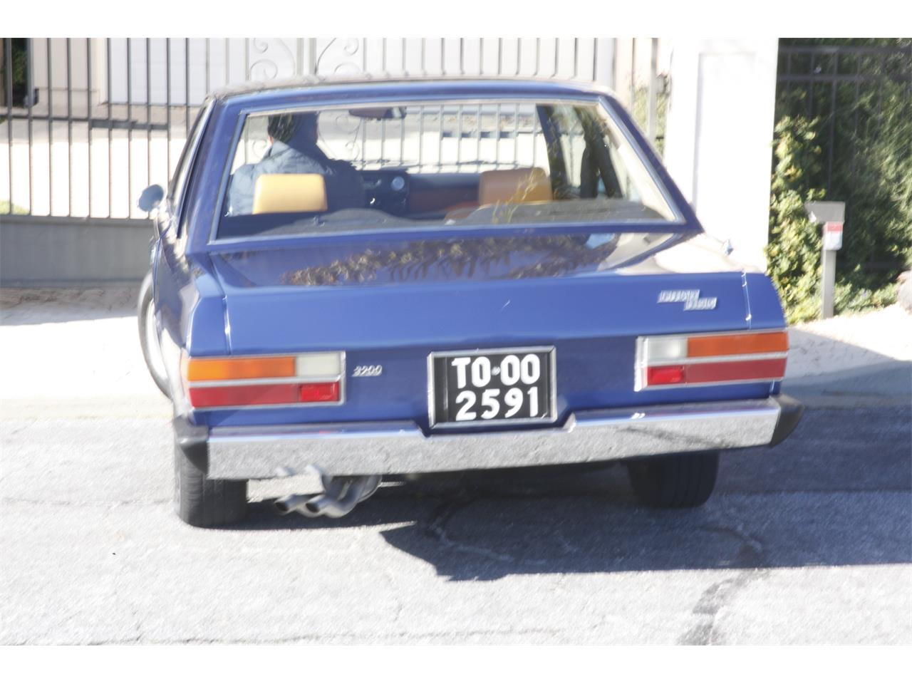 Large Picture of Classic '73 Fiat 130 located in Mill Valley California - $29,900.00 - PC33
