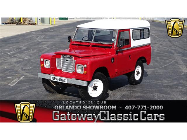 Picture of '82 Series IIA - PAOC