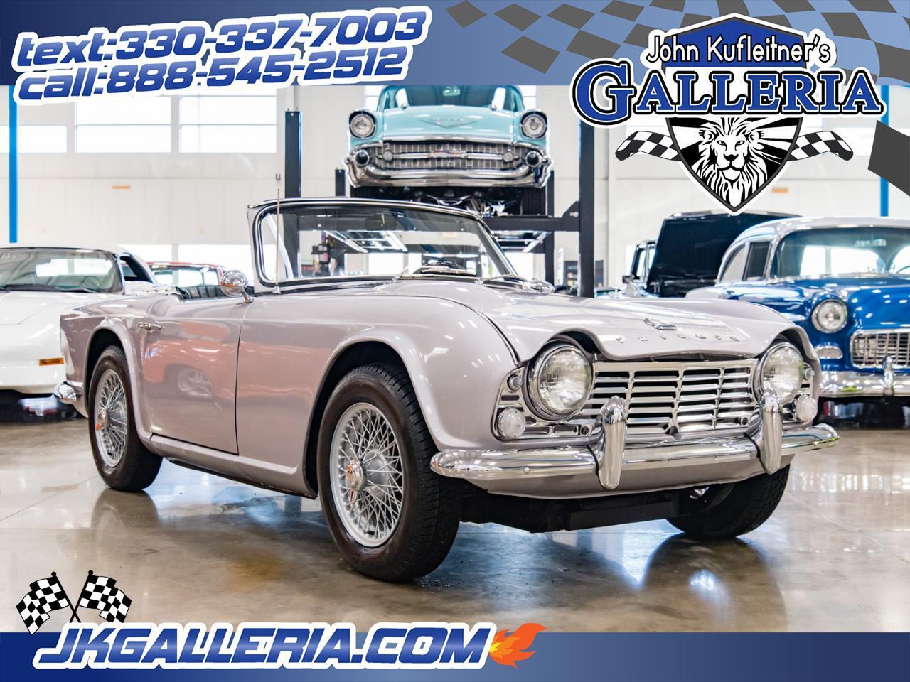 For Sale 1965 Triumph Tr4 In Salem Ohio