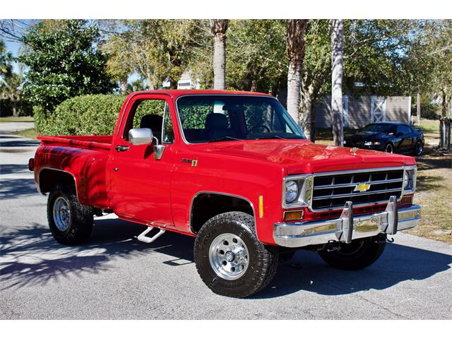 Picture of 1978 Chevrolet K-10 located in Florida - $44,950.00 Offered by  - PCL6
