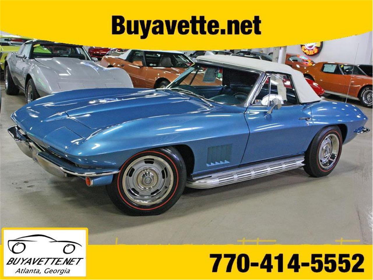 Large Picture of '67 Chevrolet Corvette located in Georgia - PCOC