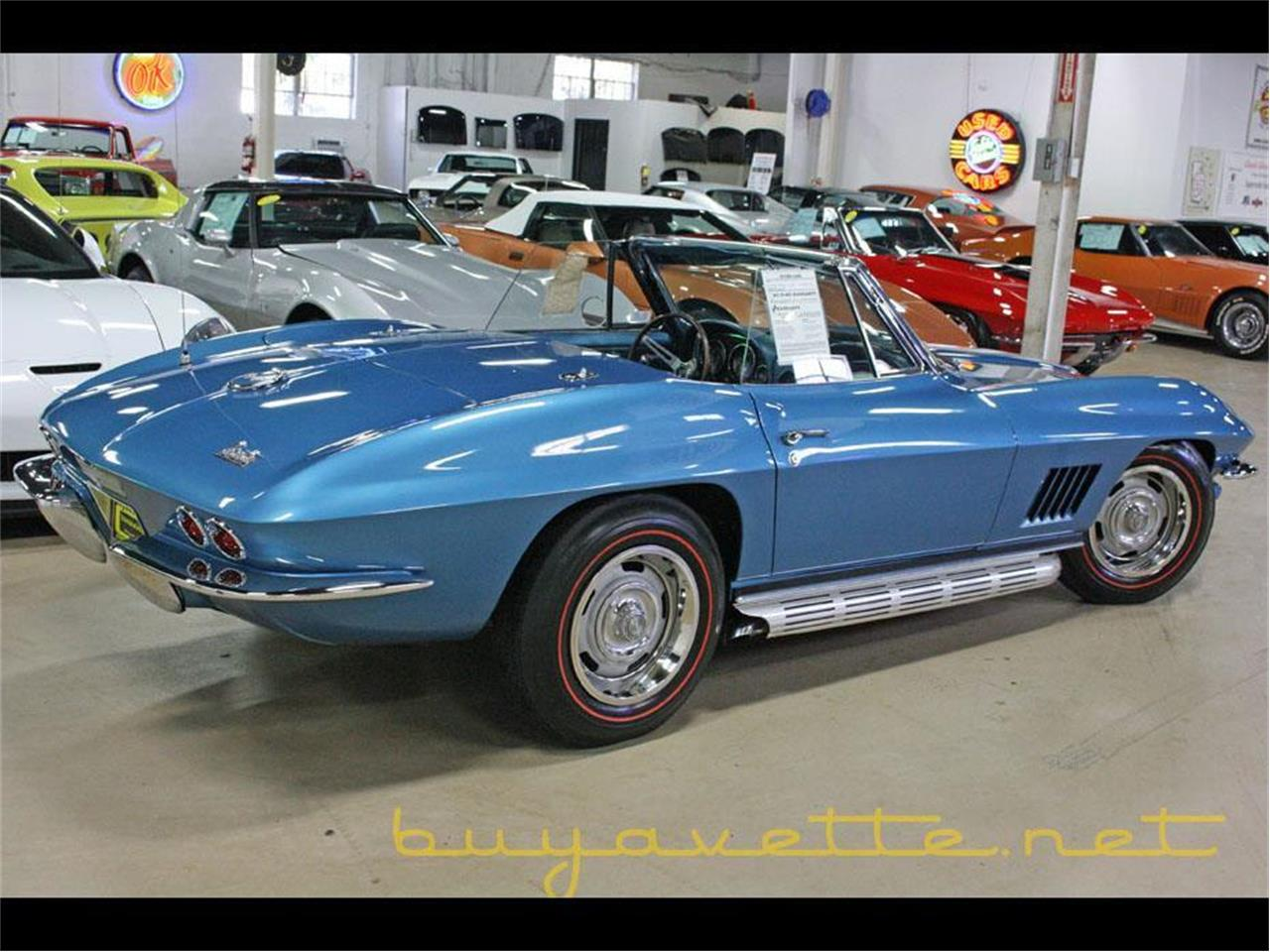 Large Picture of '67 Chevrolet Corvette Offered by Buyavette - PCOC