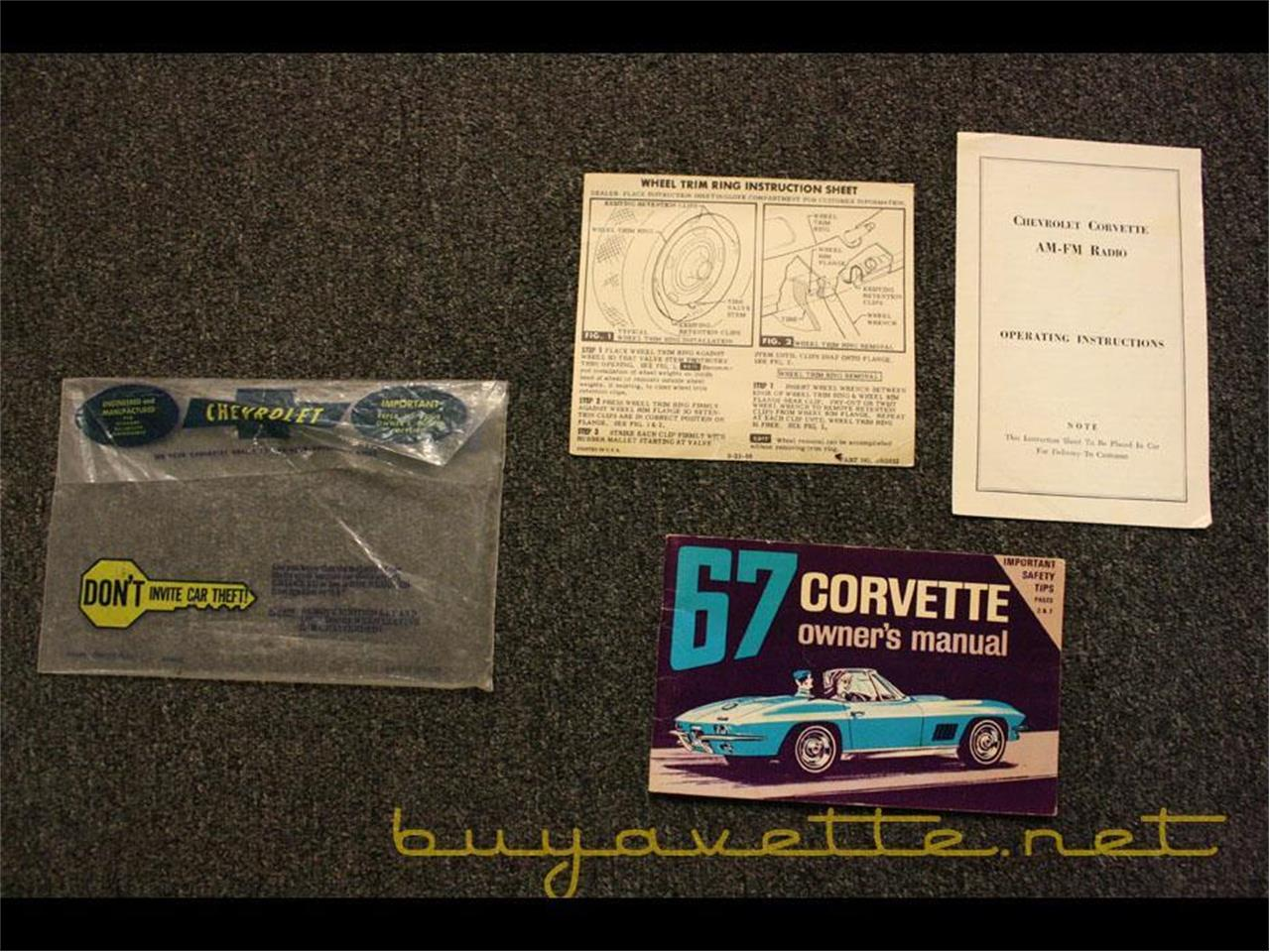 Large Picture of Classic '67 Chevrolet Corvette located in Atlanta Georgia - $99,875.00 Offered by Buyavette - PCOC